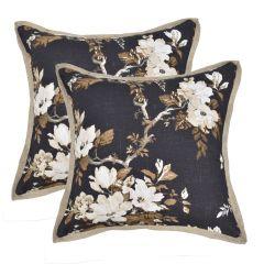 Almofada com tecido floral
