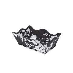 Caixa Decorativa Wave Margot Pewter