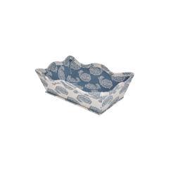 Caixa Decorativa Cashmere Azul