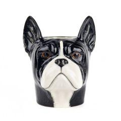 Pote Bulldog Francês Preto